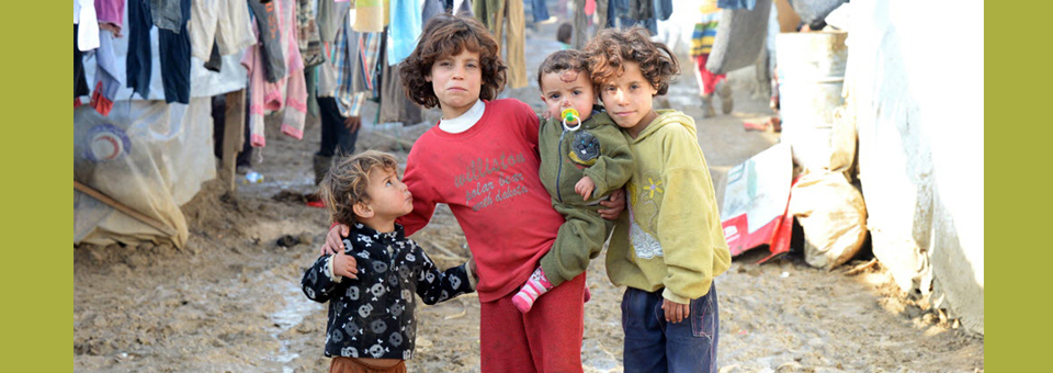 STC Syrian Refugee Camp